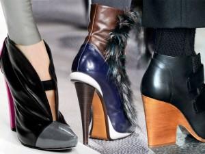 обувь осень зима 2014