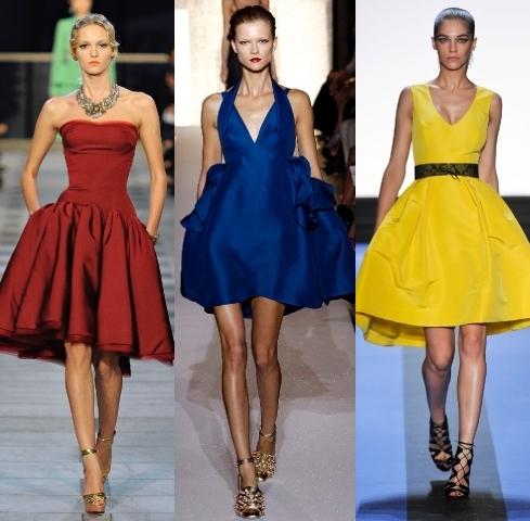 Особенности и роль выбора цвета платья в женском гардеробе.