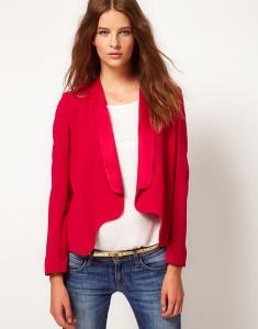 темно-розовый пиджак