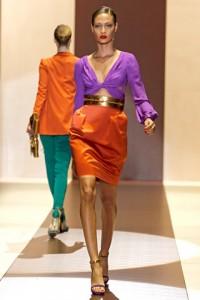 Оранжевый и фиолетовый