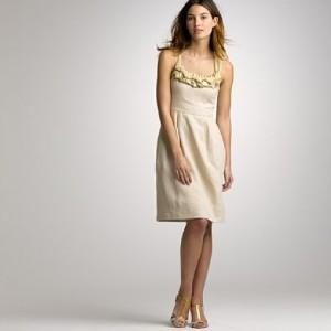 льняное платье 2013