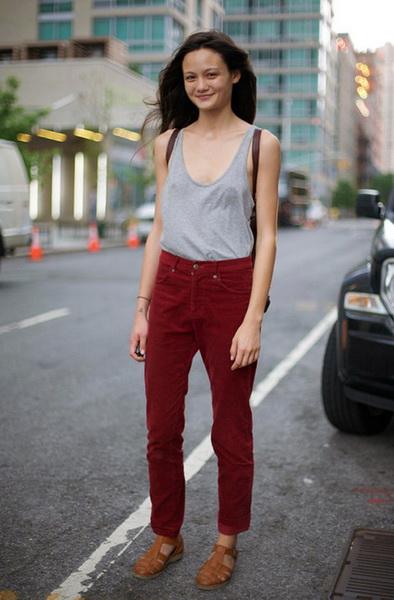 Модные тенденции с чем носить майку