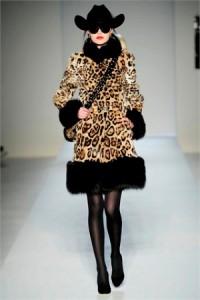 черный и леопардовый