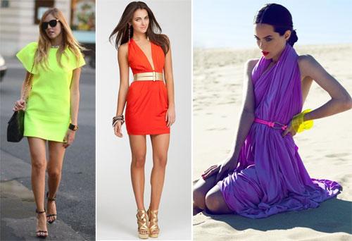 Где купить яркие платья