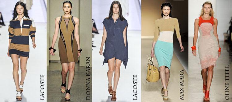 платье поло с чем носить