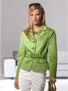 зеленый пиджак с чем носить?