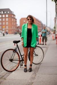 пиджак зеленого цвета
