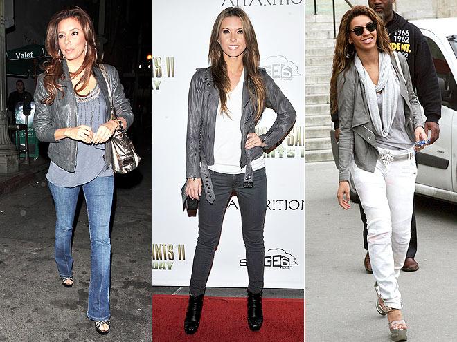 Серый пиджак с чем носить