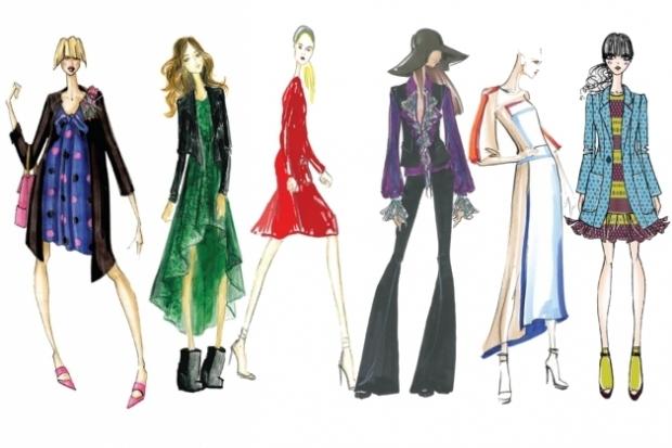 Какие цвета в моде осенью 2012