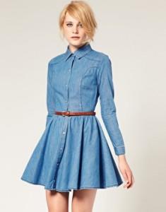 Выкройка платье из джинсовой ткани фото 945