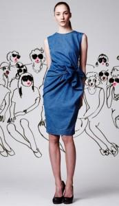 Выкройка платье из джинсовой ткани фото 755