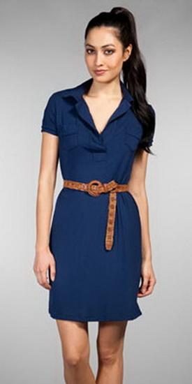 Платья поло с чем носить
