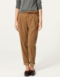 С чем носить коричневые брюки