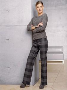 как и с чем носить клетчатые брюки ?