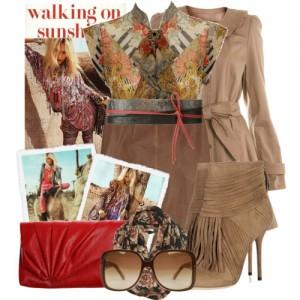 модные сочетания коричневого