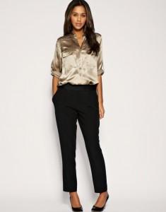 прямые брюки, с чем носить