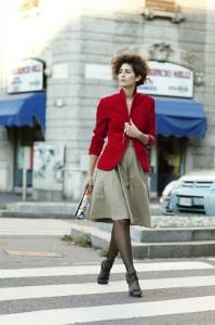 красный пиджак