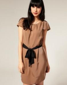 Как завязать пояс на платье