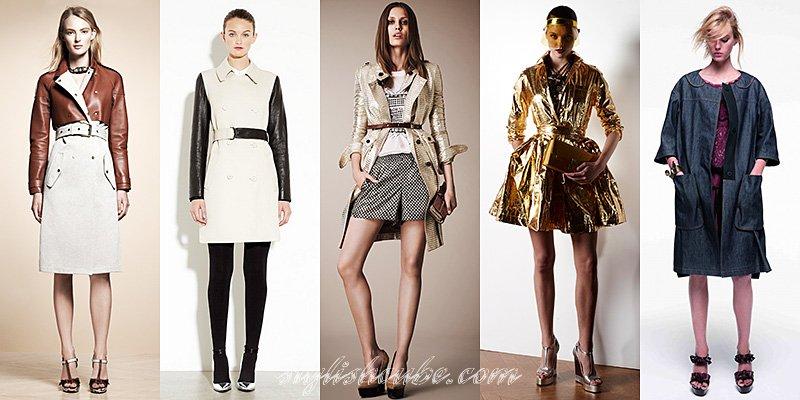 модные плащи осень зима 2012 2013