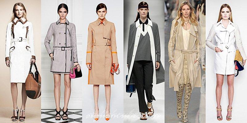 модные плащи 2012 2013
