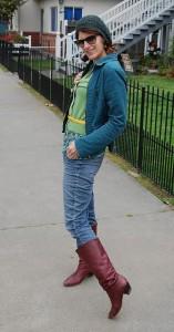 С чем носить джинсовый жакет