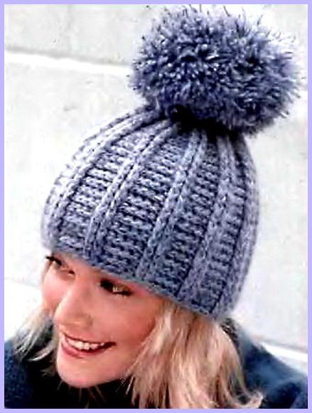 Теплые... вязаные шапки крючком - Вязание крючком 25 мар 2015 Схемы вязания шапки рассчитаны на окружность головы