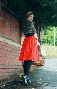 красную юбку фото