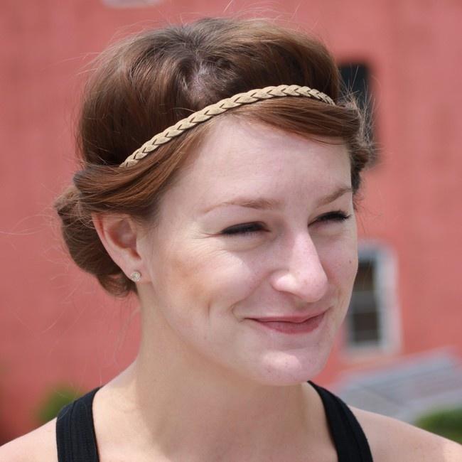 Ободки для греческой причёски