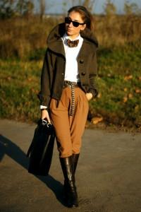 Жокейские сапоги с чем носить
