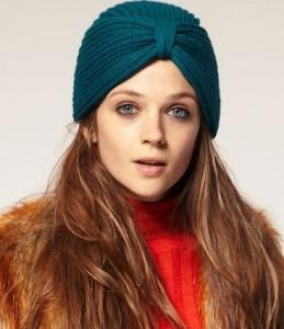 зимняя шапка - чалма