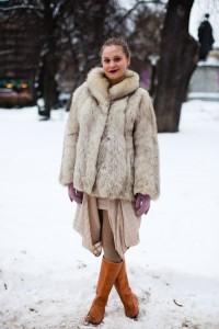 С чем носить широкие сапоги