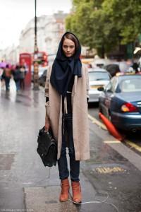 как носить длинный шарф