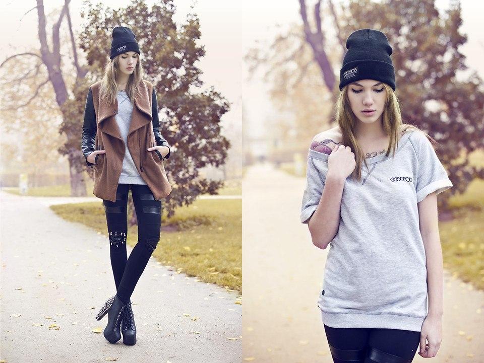 Наверное, если с чем носить осенью кепку фото для занятий зимними