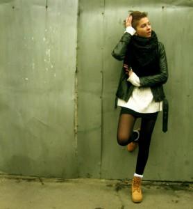 куртка к тимберлендам фото