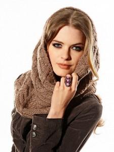 как повязать шарф на голову