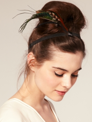 как правильно носить повязку для волос фото