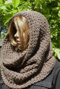 шарф на голову фото