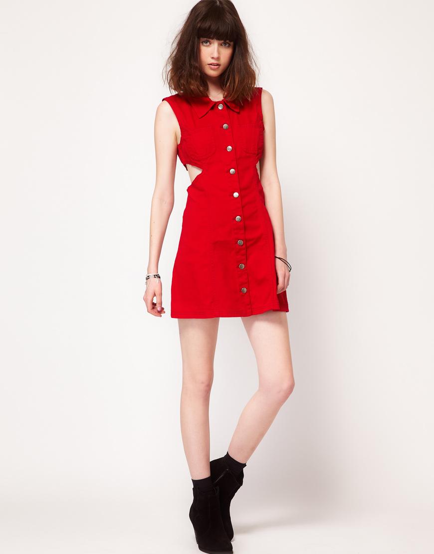 Под красное платье