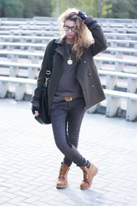 тимберленды к куртке