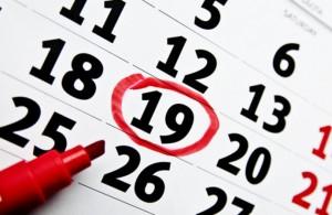 Женский месячный календарь