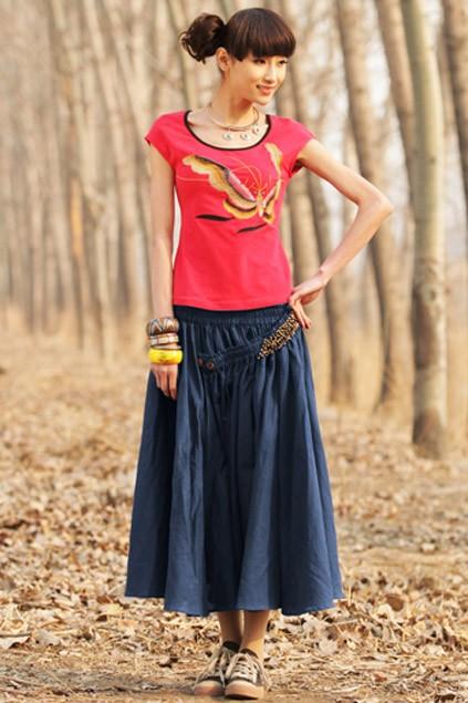 Купить красную юбку пышную в интернет магазине