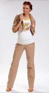 брюки бежевые с чем носить