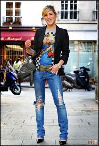 Как носить пиджак с джинсами фото