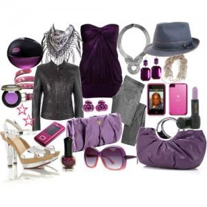 лиловый цвет фото
