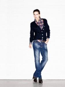 Как носить рубашку с джинсами фото