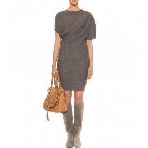 C чем носить шерстяное платье