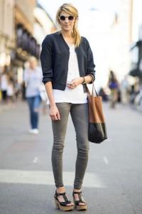 какой пиджак подходит к джинсам