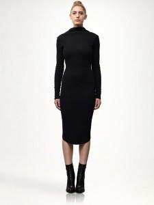 C чем носить шерстяное платье фото