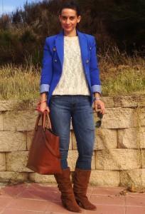 Что носить с синим пиджаком фото