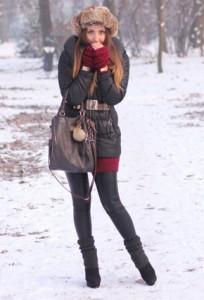 зимние ботильоны фото